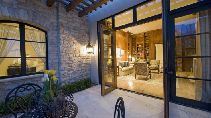 Using Patio Doors As a Statement